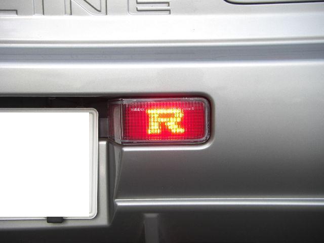 R34GTRのLEDリアフォグランプ