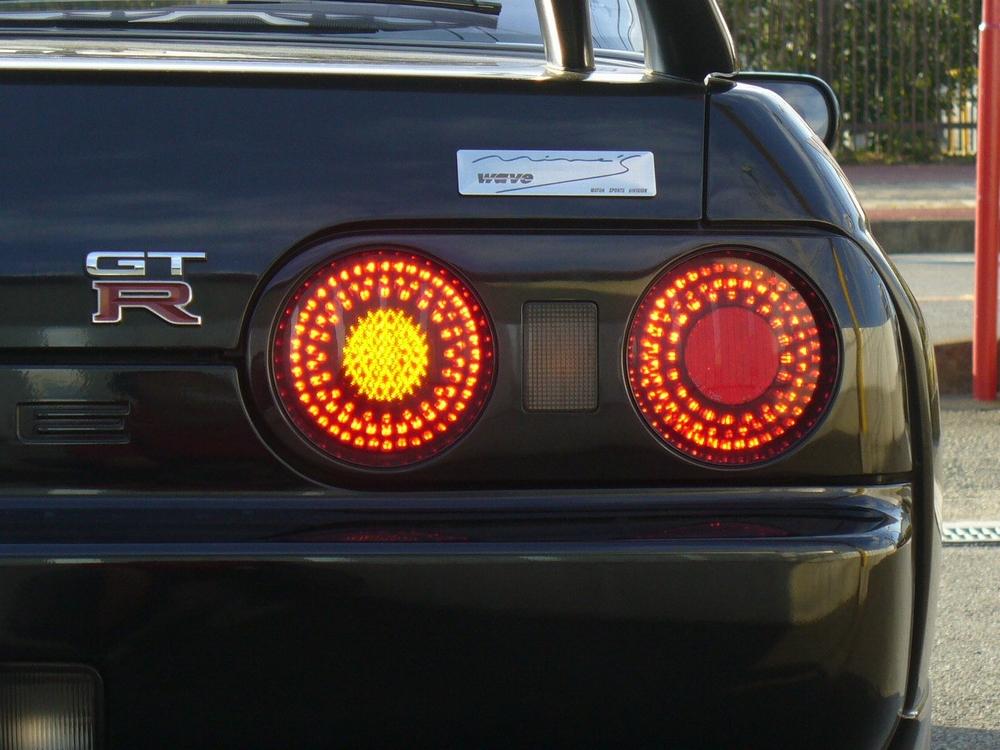 R32GTRのLEDテールランプ